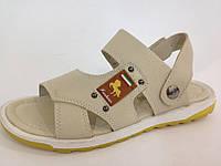 Босоножки, сандалии, шлепанцы кожаные для мальчика р.34-38 ТМ TOM.M (Bi&Ki)