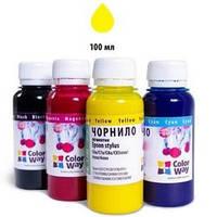 Чернила ColorWay HP №134/135 Yellow (CW-HW350Y01)