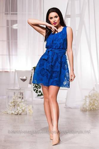 Платье  женское розы