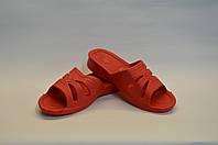 Шлепанцы женские оптом комфортные красные ПЖ - 24, фото 1