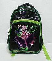 Школьный рюкзак для девочки. Фиолетовая бабочка, фото 1