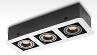 Світлодіодний LED світильник карданний 27Вт, LDC891