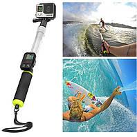 Плавающий монопод Aquapod, прозрачный монопод для GoPro, SJCAM, Xiaomi