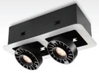 Светодиодный LED карданный светильник выдвижной 24Вт, LDC924