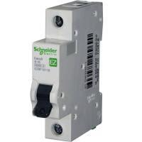 """Автоматический выключатель, 1Р, 16А, характеристика """"С"""" Schneider Electric"""