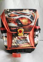 Школьный рюкзак для мальчика. Машинки, фото 1