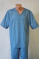 Мужской медицинский костюм (коттон)
