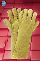 Защитные перчатки RAWORKG43-216. Перчатки для сварщиков спилковые