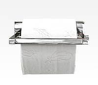 Держатель туалетной бумаги серия DeLux