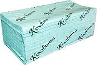 Полотенца бумажные листовые. V-сложение. 180 листов.