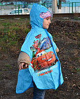 Дождевик для девочекдля мальчиков Cars пончо 0475 S