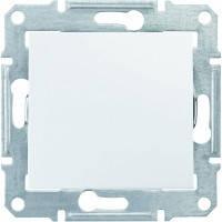 Выключатель кнопочный, белый - Schneider Electric Sedna