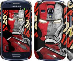 "Чохол Samsung Galaxy S Duos s7562 zka Iron Man ""2764c-84"""