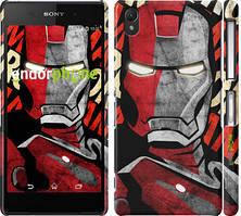 "Чехол на Sony Xperia M4 Aqua Iron Man ""2764c-162"""