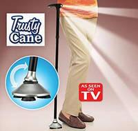 Трость складная с фонариком Trusty Cane