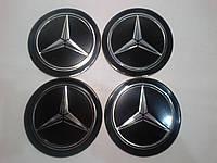 Наклейка на колпак диска Mercedes 90 мм