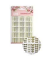 Charmicon 3D Silicone Stickers Бантики EMI