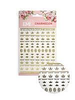 Charmicon 3D Silicone Stickers Короны EMI