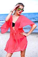 Женская коротка пляжная туника , фото 1