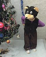 Карнавальный костюм Медвежонок темный (Мишка)