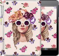 """Чехол на iPad mini Девушка с цветами v2 """"3569c-27"""""""