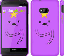 "Чехол на HTC One M7 Adventure Time. Lumpy Space Princess ""1122c-36"""