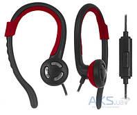 Наушники (гарнитура) Ergo VS-300 Black/Red