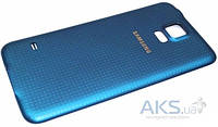 Задняя часть корпуса (крышка аккумулятора) Samsung SM-G900F Galaxy S5 / SM-G900H Galaxy S5 Blue