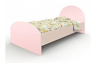 """Кровать """"Веер"""" розовая"""