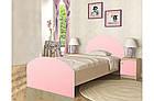 """Кровать """"Веер"""" розовая, фото 2"""