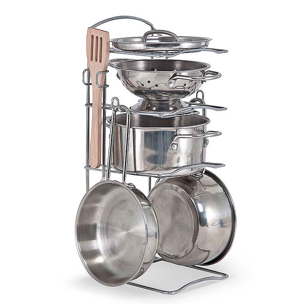 Детский набор посуды из нержавеющей стали Melissa & Doug (MD14265)
