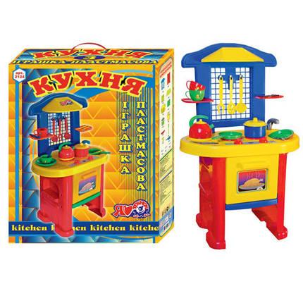 Детская игровая Кухня 3 пластик ТМ Технок 2124, фото 2