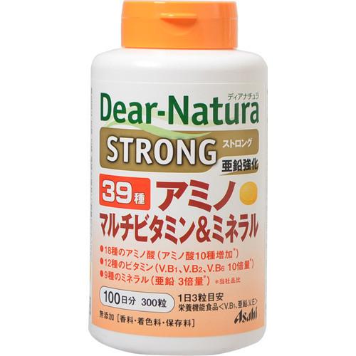 Японские Dear Natura  STRONG витамины минералы аминокислоты (39 компонентов), 300 т.