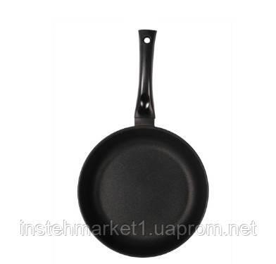 Сковорода БИОЛ Классик 2807П (диаметр 280 мм) алюминиевая с антипригарным покрытием, фото 2