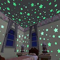 """Светящиеся звезды на потолок """"Звездное небо"""" микс"""