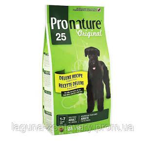 Pronature Original (Пронатюр Ориджинал) ДЕЛЮКС ВЗРОСЛЫЙ сухой супер премиум корм Без пшеницы, кукурузы, сои для собак