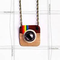 Кулон Instagram- Ручная Работа