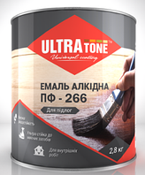 """Эмаль ПФ-266 """"ULTRAtone""""для пола золотисто-коричневая 0,9кг"""