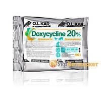Доксициклин 20% порошок 100 г (кормовой), O.L.KAR. (Олкар)