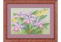 """Набор для вышивки бисером """"Орхидея"""""""