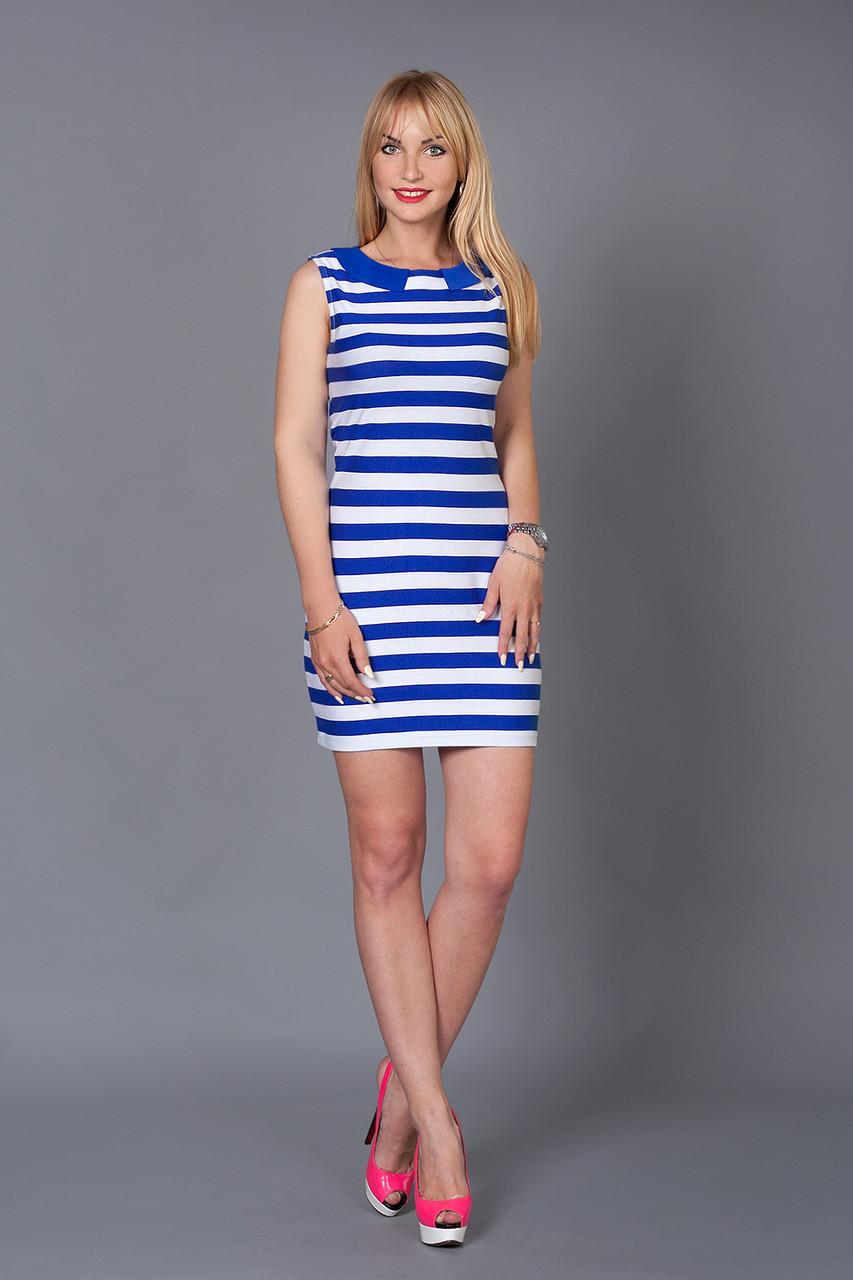 27d99070c9d Легкое повседневное платье в полоску из хлопка от оптово-розничного ...