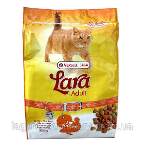 Lara КУРИЦА (Poultry) сухой корм для активных котов, 10кг