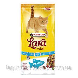 Lara ЛОСОСЬ (Salmon) сухой корм для активных котов