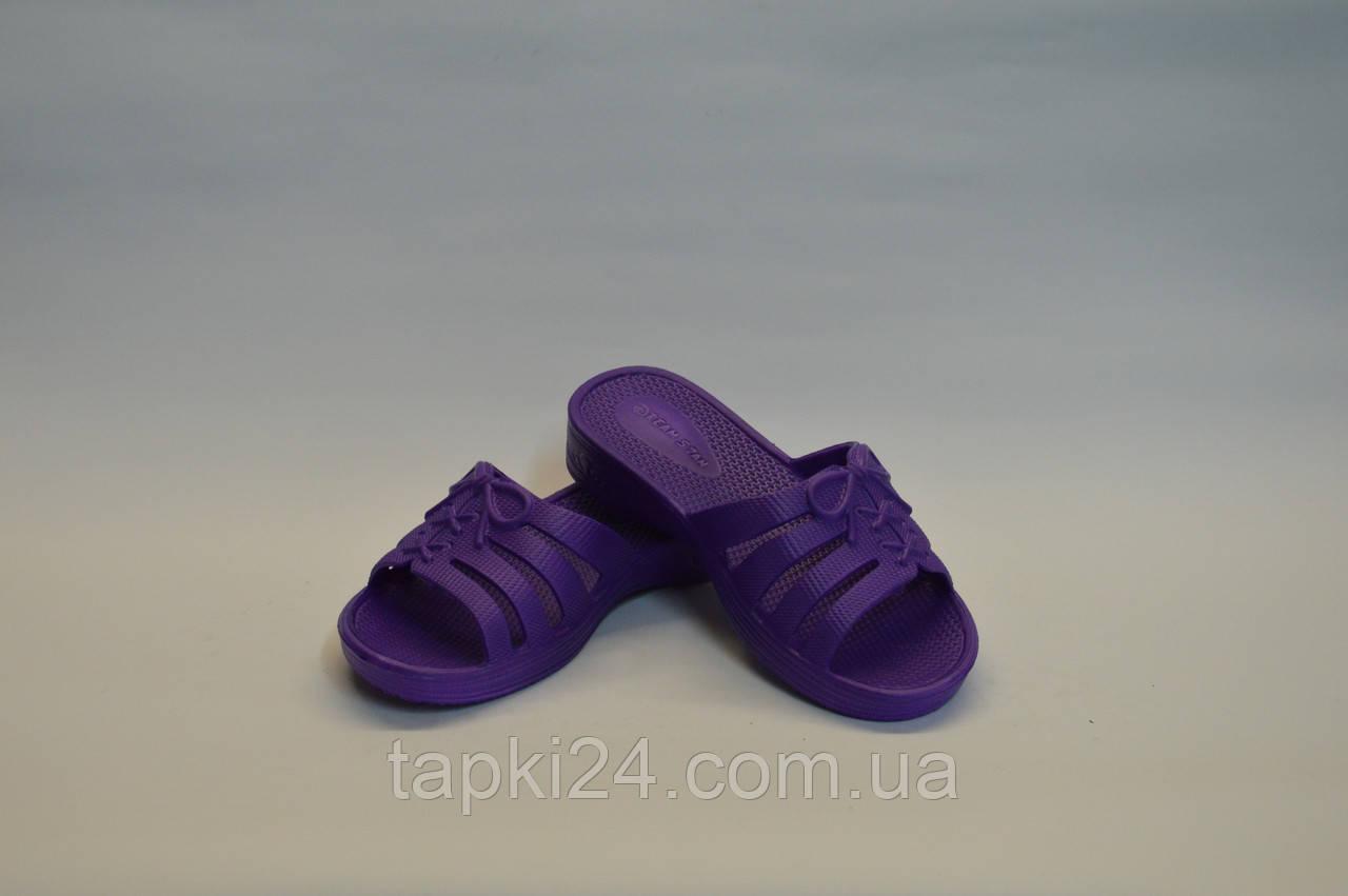 Сланцы детские оптом пенка фиолетовый ППЖ - 01  , фото 1