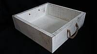 Короб из дерева (размер 27Х27Х8см 140\110 (цена за 1 шт. +30 грн.)