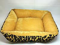 """Лежак-трансформер """"леопард"""" для собак и кошек, 36х48х16см"""
