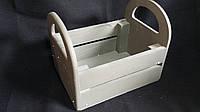 Ящик деревянный для цветов, 20х15х16 см 160\130 (цена за 1 шт. +30 грн.)