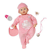 Интерактивная кукла Беби Аннабель Baby Annabell Настоящая малышка 9 версия  (Baby Annabell Doll) Zapf Creation, фото 1
