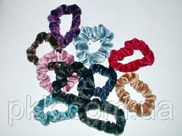 Резинка для волос цветная бархатная R-100-3 К