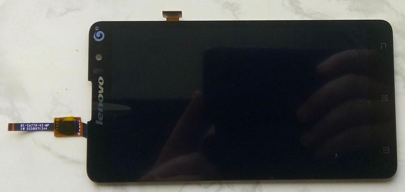 Lenovo S8 S898t дисплей в зборі з тачскріном модуль чорний
